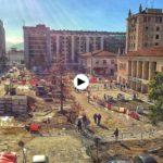 Las obras de la Plaza de las Estaciones avanzan