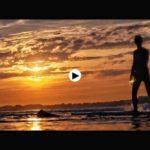 Surf al atardecer en Ribamontán al Mar. ¡Viva la vida!