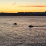 Salir a navegar media hora antes de que salga el sol