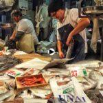 Los tenderos del Mercado de la Esperanza nos cuentan a cómo va el pescado a una semana de Navidad