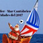 Navegando en Navidad por el mar Cantábrico