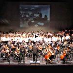 Viento del Norte con orquesta, banda y coros del conservatorio de Torrelavega