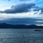 La bahía y el Sardinero en una estampa bien invernal