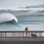 La monumental belleza de las olas al romper