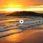 Un amanecer de domingo en Santander