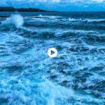 El baile de las olas del Sardinero