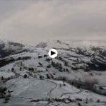 Nevó en Esles