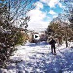 Por los montes de Cantabria en raquetas de nieve: Brañavieja – Abiada