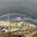 Doble arcoíris sobre Puerto Chico. Regalos que te da la vida