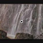 La cascada del Asón, bien vigorosa