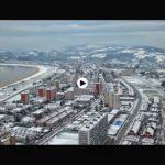 Cuando la nieve toca el Puntal de Laredo…