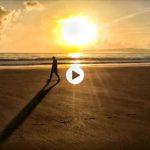 Empezar el día con el murmullo del mar y el Sardinero y Piquío para ti solo