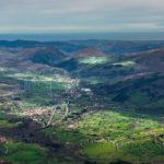 El Valle de Iguña desde el Pico Jano