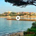 Animación dominical en la bahía santanderina