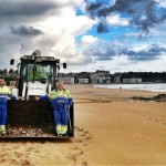 'El alemán' deja las playas como la patena