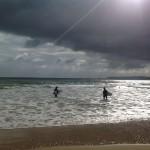 Surf al amanecer