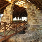Termas romanas y una iglesia románica en Maliaño