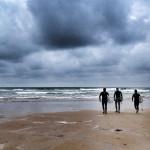Surf bajo nubarrones