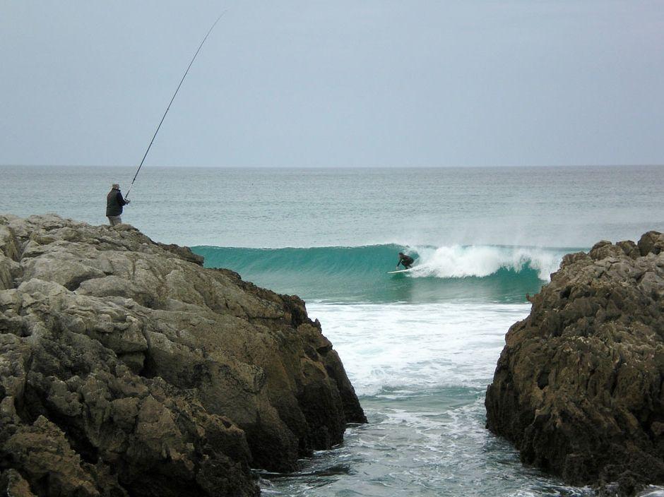 'Mar de alegrías'. Foto tomada en la playa de Valdearenas. autora: María García Collado