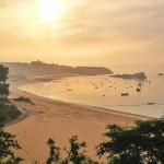 Paz y quietud en la playa de Los Peligros