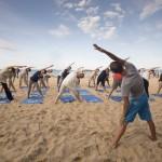 Yoga en el Sardinero