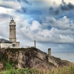 El faro de Cabo Mayor da luz desde 1839