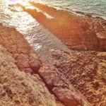 Las garras de la tierra arañan el mar