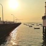 Ganas de navegar hacia El Puntal