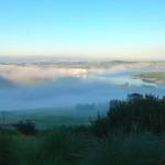 Niebla en el abra del Pas