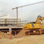 Ya están excavando el túnel del Centro Botín