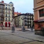 La plaza de Cañadío tras una noche de sábado