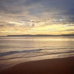 El sur doma la mar del Sardinero