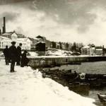 Puertochico nevado en 1884