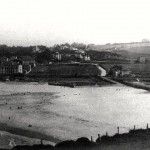 La segunda del Sardinero desde el sendero de Mataleñas en 1924