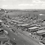 43 navíos de la Armada atracaron en la bahía en 1968 en la II Semana Naval