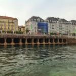 El muelle Calderón desde la bahía