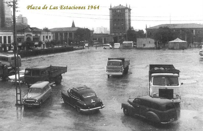 plaza-de-las-estaciones-santander-1964