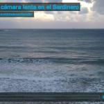 Surf a cámara lenta en el Sardinero