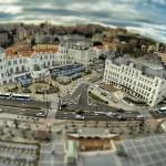 El Casino y el hotel Sardinero, de juguete desde las alturas