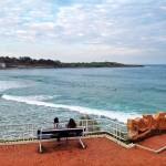 Mirando al surf