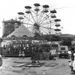 La Feria de Santiago cuando se celebraba en la plaza de las Estaciones