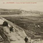 Los Campos de Sport del Sardinero cuando la gradona se sentaba en un par de tablones de madera