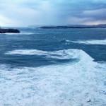 La mar empieza a crecer