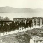 Santander cuando su plaza de toros estaba en los terrenos del sanatorio de Madrazo