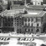Obras de ampliación del Ayuntamiento de Santander en 1965