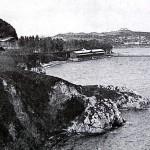 Hubo un tiempo en que la bahía se merendaba la playa de la Magdalena