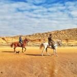 A caballo por la ría de Mogro