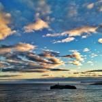 A la isla de Mouro saltando entre las nubes