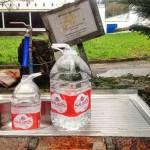 Un manantial que da gratis el agua de Solares