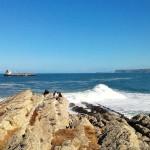 Echar la tarde mirando al mar en Cabo Menor